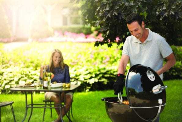 Cant go wrong - Weber 22 Inch Master-Touch GBS Charcoal Grill Black Lifestyle