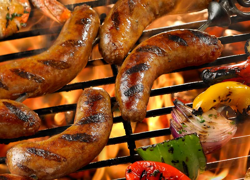 How to BBQ Sausages