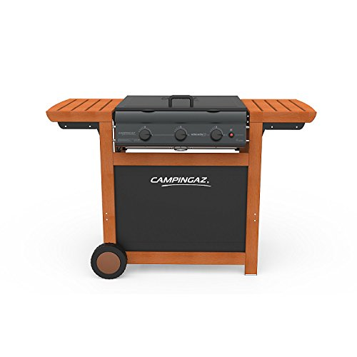 campingaz adelaide 3 woody gas bbq 3 burner barbecue with. Black Bedroom Furniture Sets. Home Design Ideas